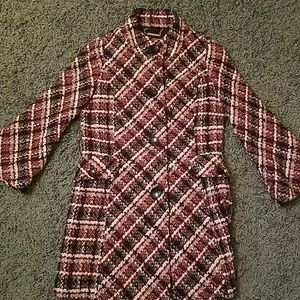 Lightly used patterned coat